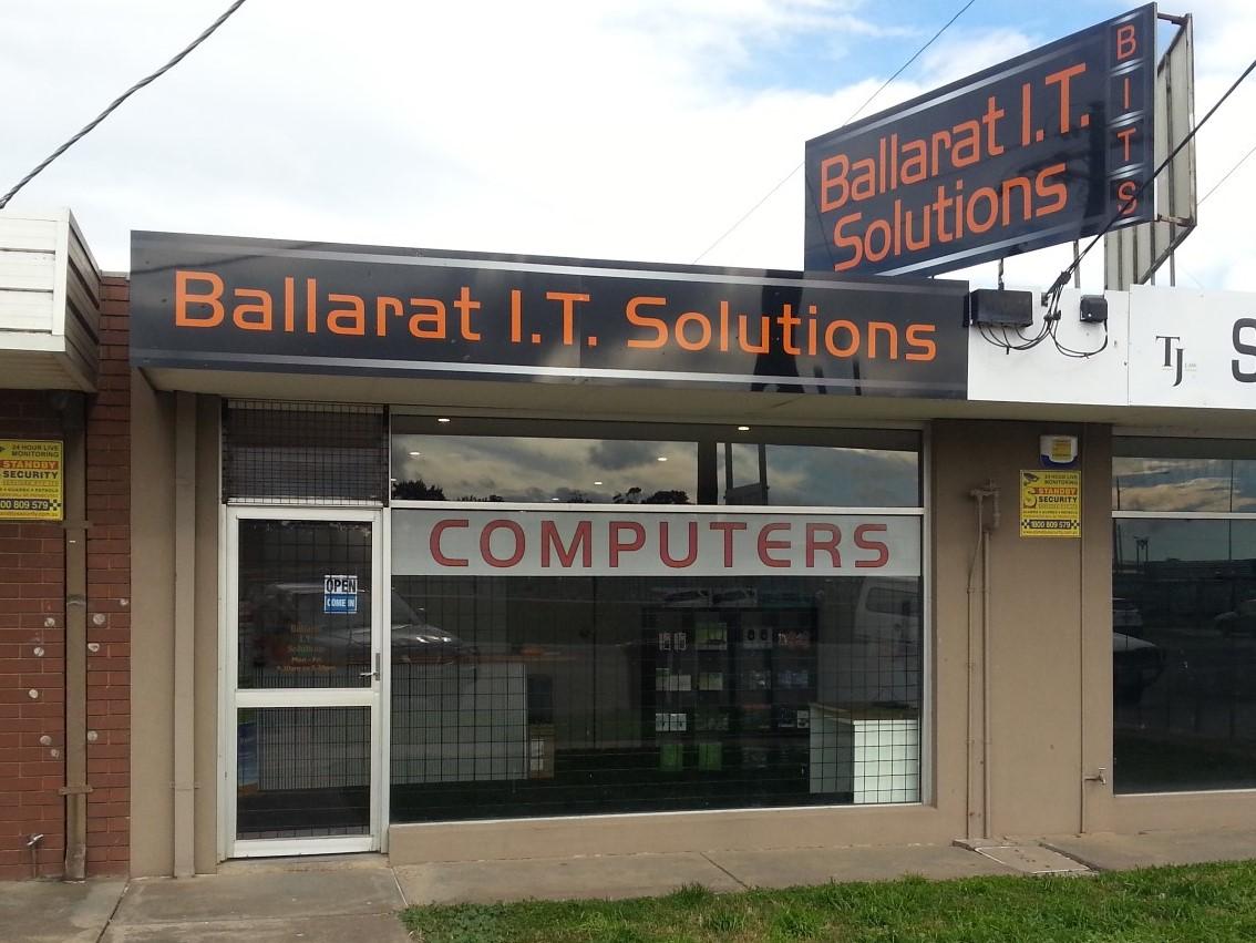 Ballarat IT Solutions Store front